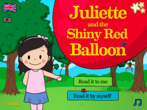 Juliette and the Shiny Red Balloon