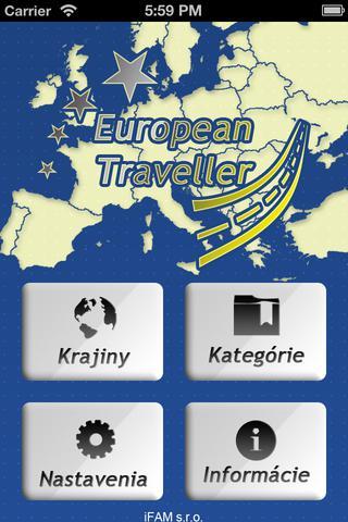 Európsky cestovný sprievodca