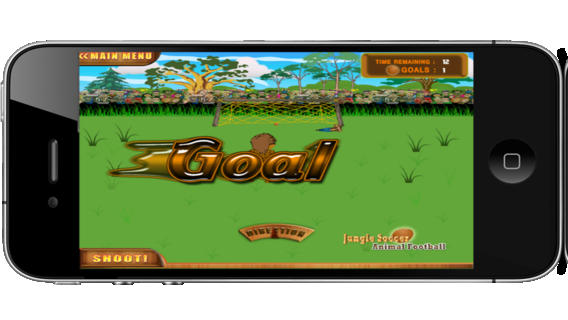 Jungle Soccer Animal Football - Free Version