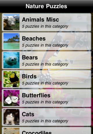 Nature Puzzles