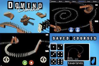 Screenshots of Domino Physics Runs Lite for iPhone
