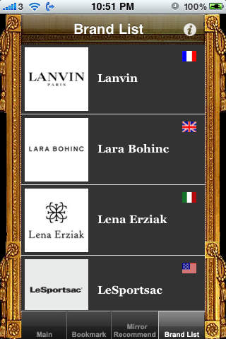 Mirror Mirror-Handbag Full Version Style Trend Fashion Brand Collection