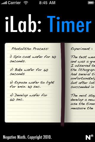 iLab: Timer