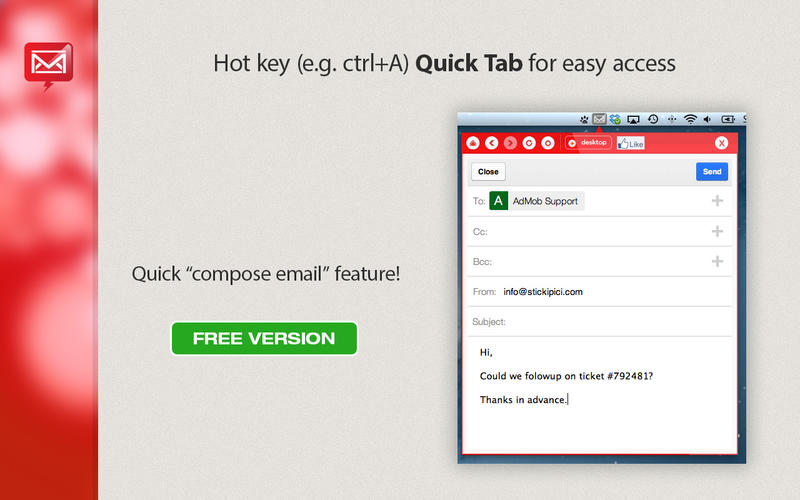 App for Gmail Screenshot - 3