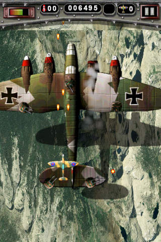 SpitFire Pilot iPhone Screenshot 2