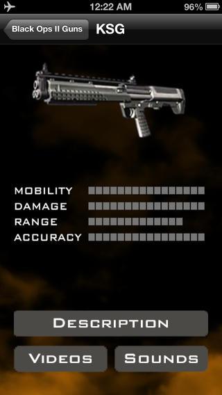 【免費書籍App】Black Ops 2 Gun Utility-APP點子