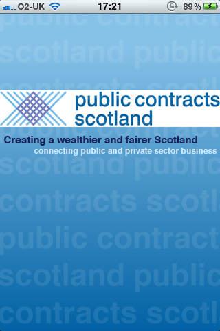 Public Contracts Scotland App