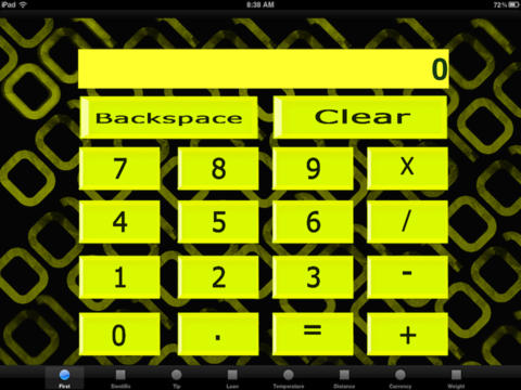 GCalculator screenshot 1