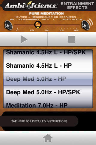 Pure Meditation Premium* | AmbiScience™ • Binaural & Isochronic Ambient Meditation Utility iPhone Screenshot 2