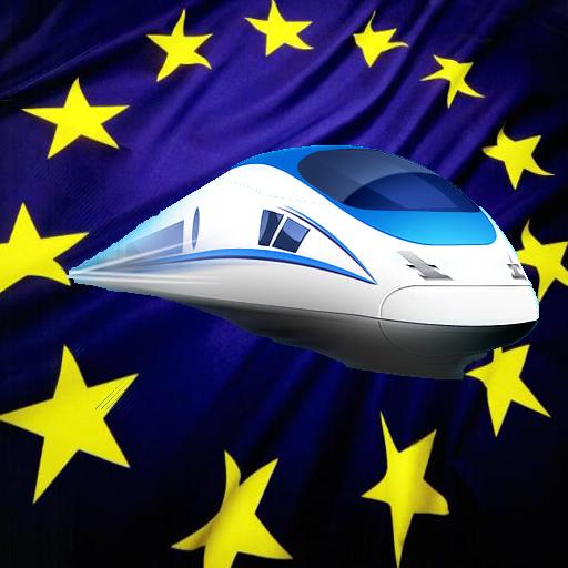 Europa tren de vía
