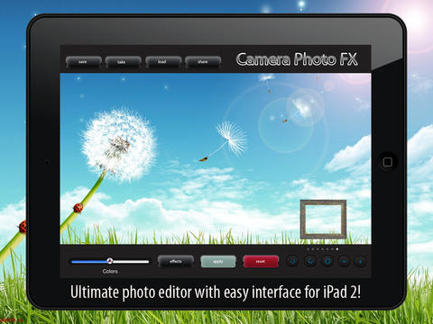 Camera Photo FX - for iPad 2 screenshot 1