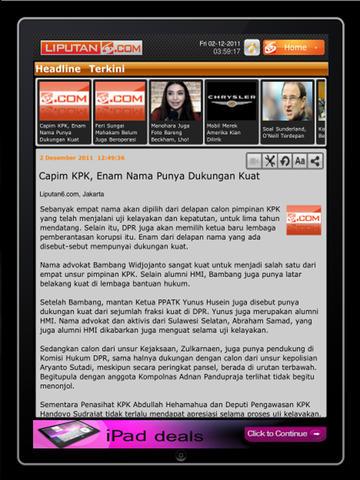 Liputan6 for iPad