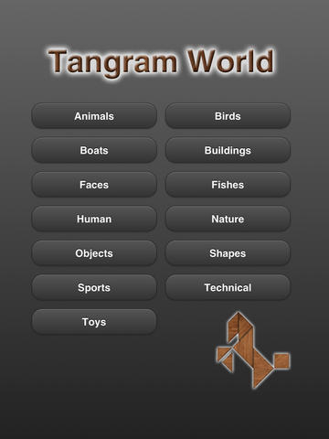 Tangram World for iPad