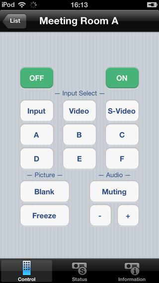 Projector Remote