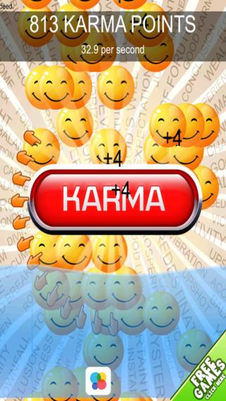 Good Karma Clicker Dash - Fun Addicting Collecting Challenge Free
