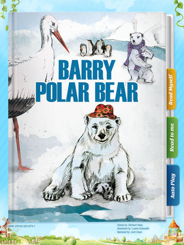 Barry Polar Bear - Another Great Children's Story Book by Pickatale HD