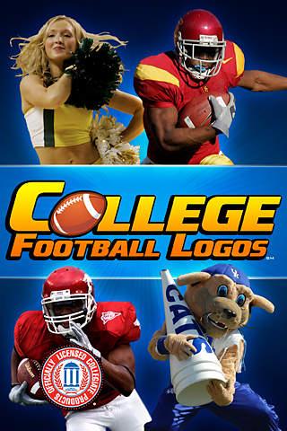 College Football Logos iPhone Screenshot 1