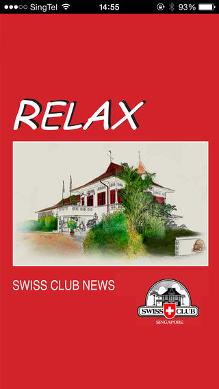 RELAX – The Magazine of the Swiss Club Singapore
