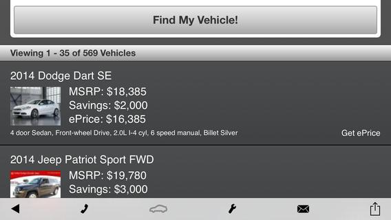 Bob Howard Chrysler Jeep Dodge RAM Dealer App