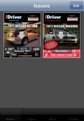 South Charlotte Nissan iPhone Screenshot 2