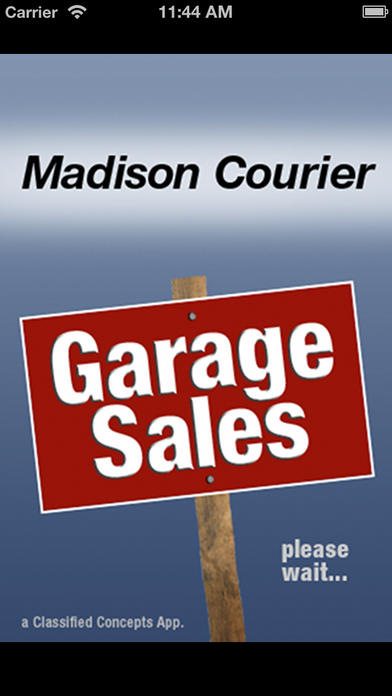 Madison courier garage sales ios store store top apps for Franchise ad garage