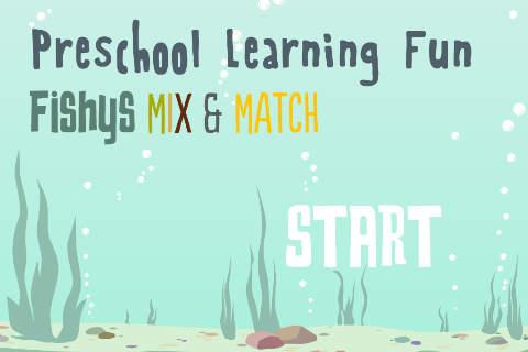 Fishys Mix Match - PreSchool Fun