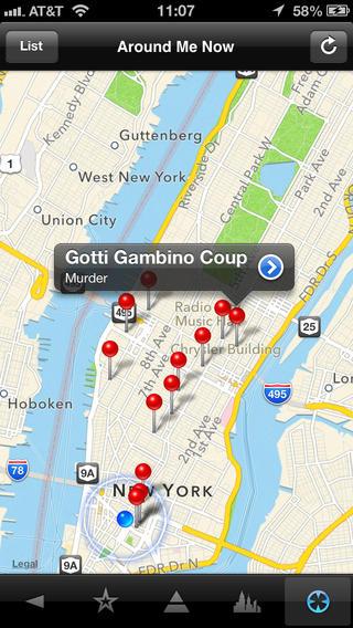 Mafia Maps New York