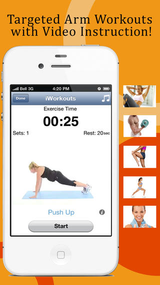 Pocket Arm Workouts: Easy biceps triceps chest shoulder exercises to get to a hundred pushups