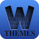 Word to Word Themes - A fun word matching and association game mobile app icon