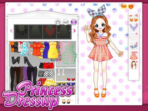 【免費遊戲App】公主娃娃—百变时尚秀-APP點子