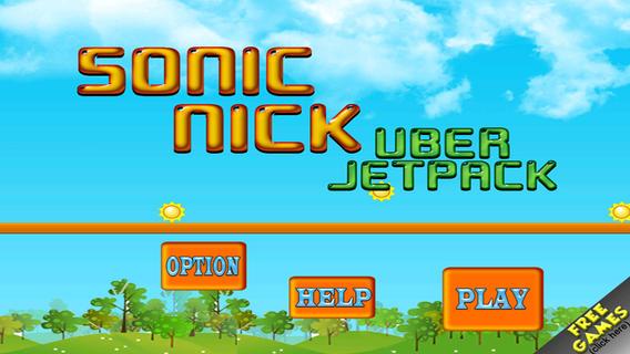 Sonic-Nick Uber Jetpack