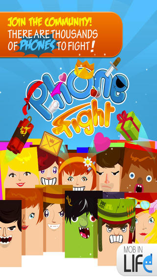 Screenshots for PHONE FIGHT – The free multiplayer mobile battle!