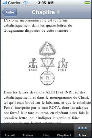 Dogme et rituel de la haute magie.