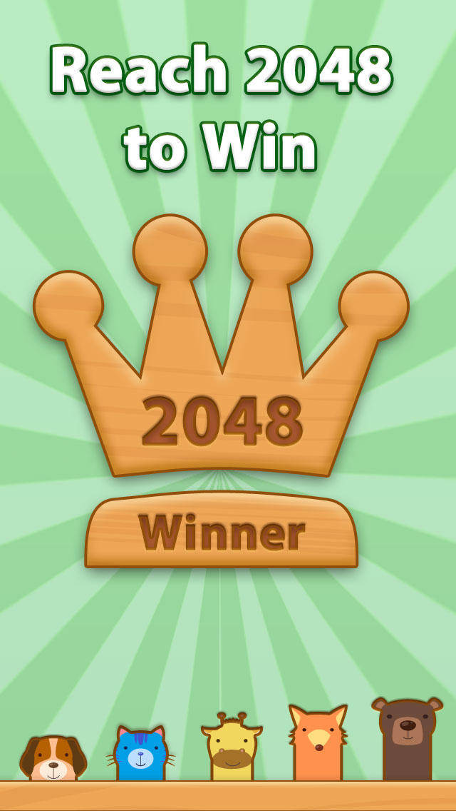 2048 Aaanimals Pro  Screenshot