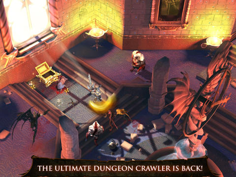 Dungeon Hunter 4 [v1.2.1] [iOS 5.0] [RUS] [Игры для iPhone/iPad/iPod]
