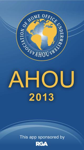 AHOU 2013