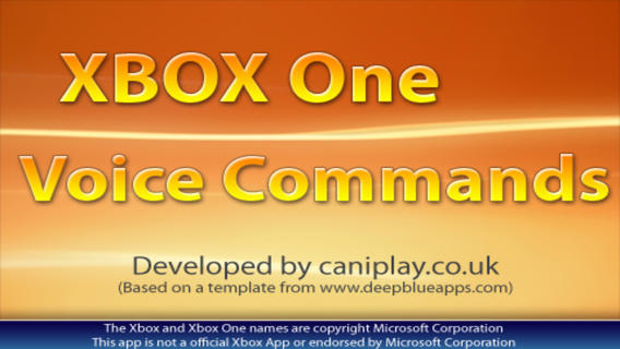 Voice Commands for Xbox One