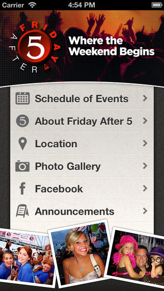 Friday After 5 iPhone Screenshot 1