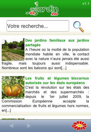 AuJardin iPhone Screenshot 1
