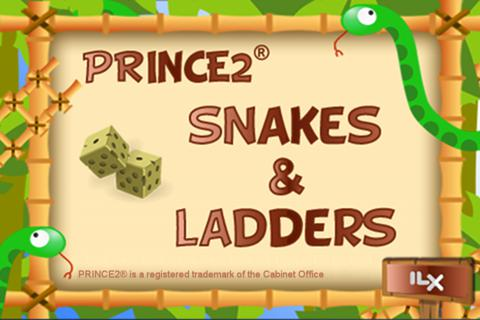PRINCE2 Snakes and Ladders Exam Prep Game