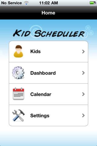 Kid Scheduler: Manage your kids