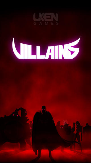 Villains iPhone Screenshot 1