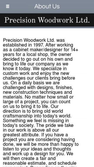 Precision Woodwork LTD - Painesville
