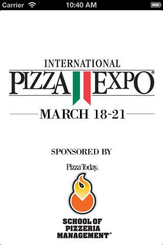 Pizza Expo 2013