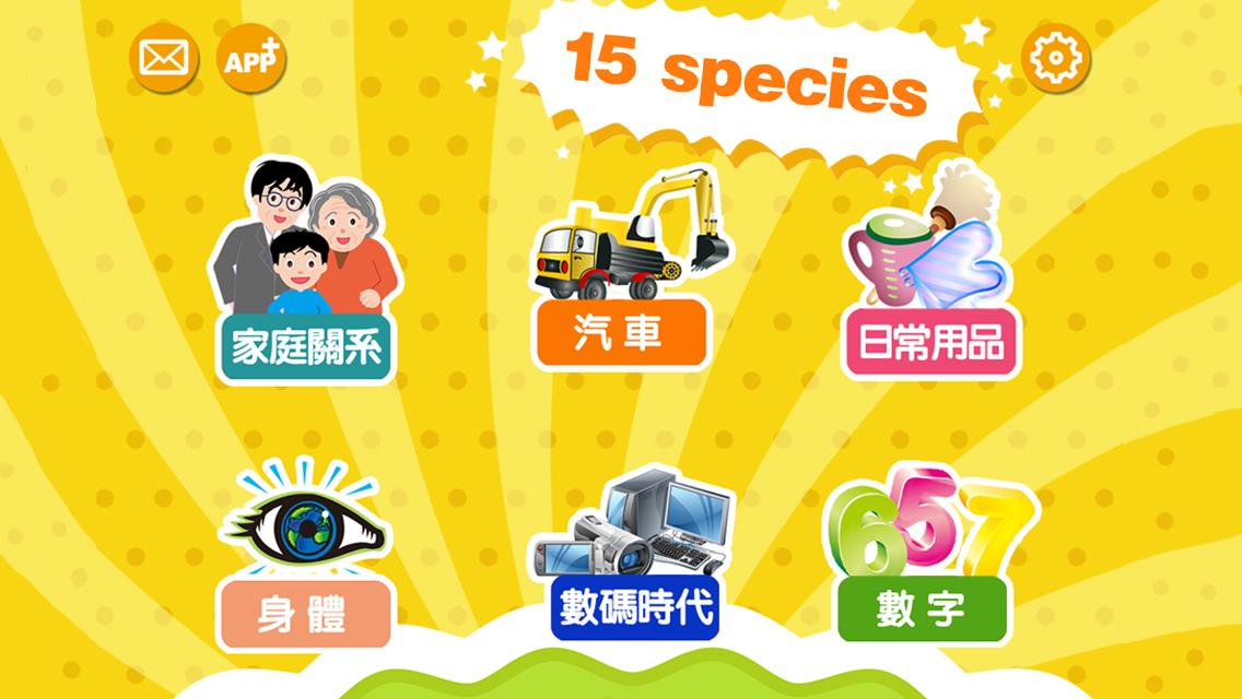 Chinese Flashcards for baby and preschool toddler - 宝宝识字卡 -普通话,粤语,英语发音 - 寶寶識字卡 -普通話,粵語,英語發音