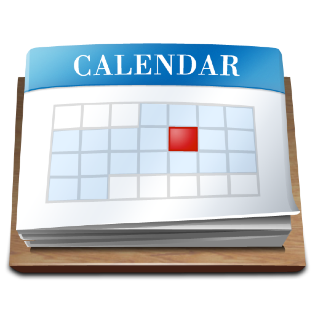 Calendar Apple : Apple calendar icon imgkid the image kid