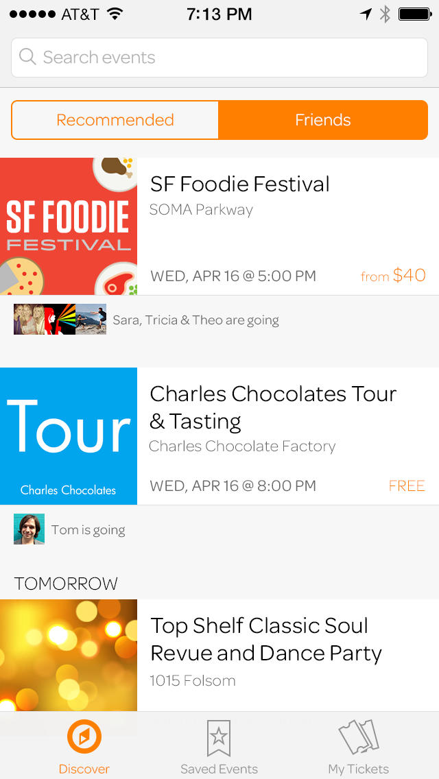 Eventbrite  Screenshot