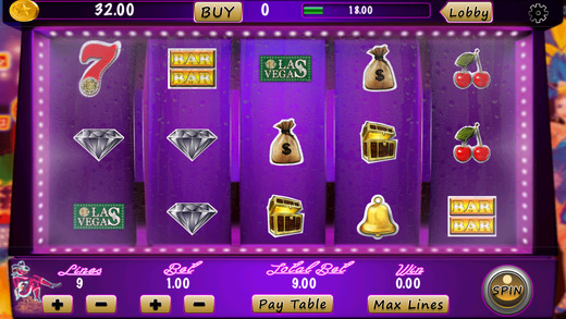 A1 Las Vegas Casino Slots Machine Pro - win double