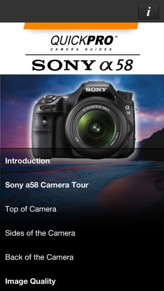 Sony a58 by QuickPro HD