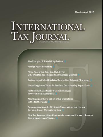 International Tax Journal